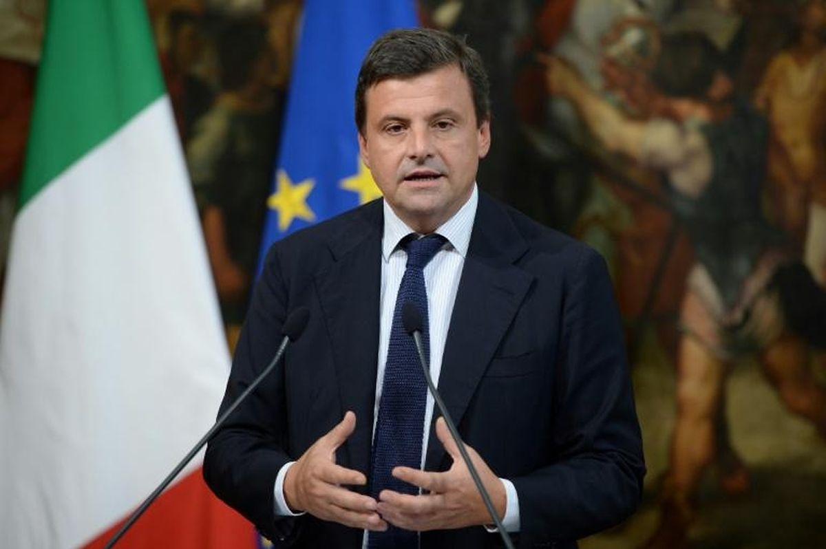 Carlo Calenda, former manager for Ferrari and member of Prime Minister Paolo Gentiloni's centre-left government (AFP)