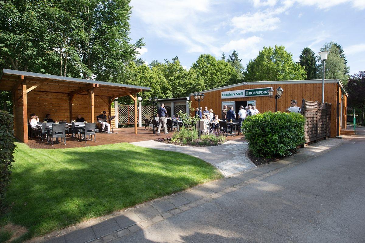 """Die neue """"Buvette"""" dürfte auch bei Besucher des Tierpark gut ankommen. 70000 wurden in dessen Renovierung investiert. Der Cigl nahm sich der Renovierung an."""