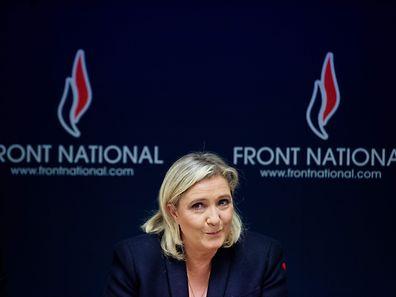 Marine le Pen will sich auf ihre Kandiatur konzentrieren.