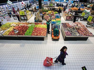 Supermarché Auchan Kirchberg  - Photo  : Pierre Matgé