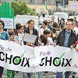 """Die Initiative """"Fir de Choix"""" und die Religionslehrer der Grundschule kritisieren die Abschaffung des Religionsunterrichts."""