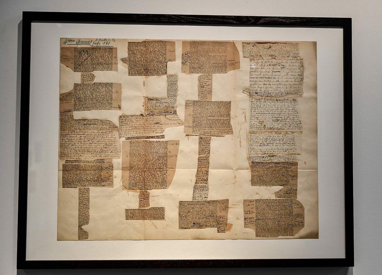 Bei einer Auktion werden 16 Briefe von Marcel Proust versteigert.