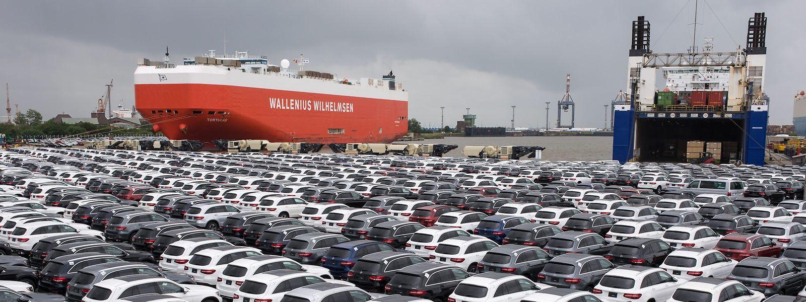 Für viele europäische Branchen, zum Beispiel die Autoindustrie, ist China der wichtigste Absatzmarkt.