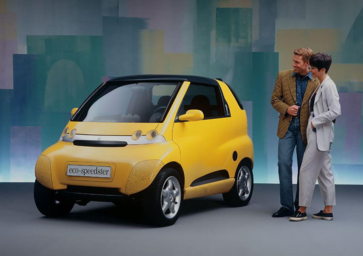 Aus der Mercedes-Studie Micro Compact Car wurde später der Smart.