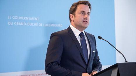 """""""Wir haben wichtige Entscheidungen für Luxemburg getroffen"""", so Premierminister Xavier Bettel am Samstag im Background-Gespräch."""