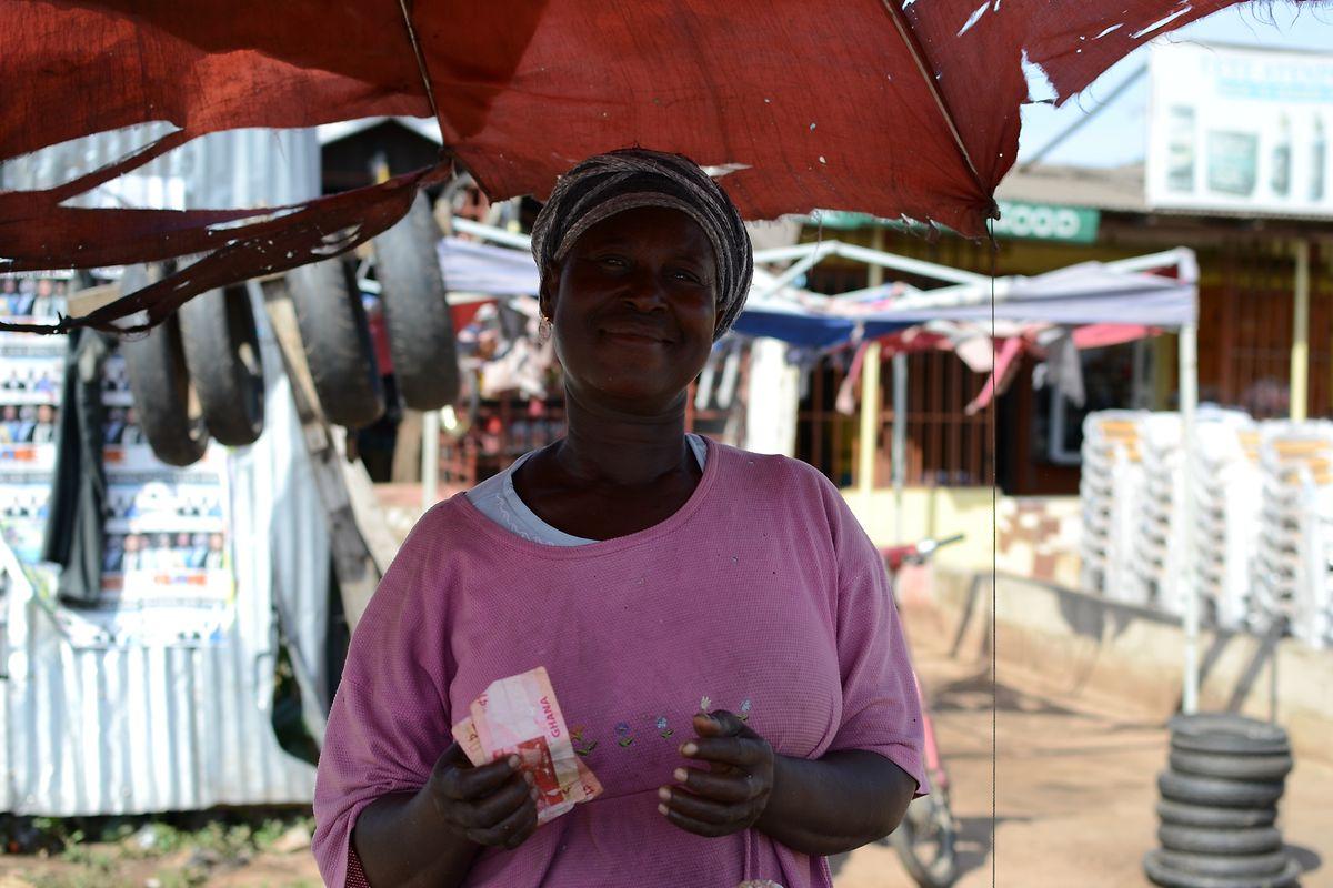 """Frank Muller erklärt, die Ghanaer würden oft lachen, aber: """"Nur weil jemand lächelt, heißt das noch lange nicht, dass es diesem Menschen gut geht."""""""