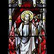 Jesus, Auferstehung, Kirchenfenster