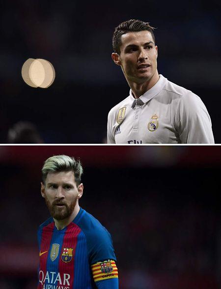 Cristiano Ronaldo et Lionel Messi, ce sont près de 900 buts inscrits pour le compte du Real Madrid et du FC Barcelone.