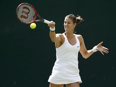 Mandy Minella ist bei den US Open ausgeschieden.