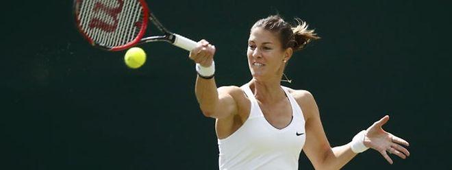 In der ersten Qualifikationsrunde kannte Mandy Minella kaum Probleme.