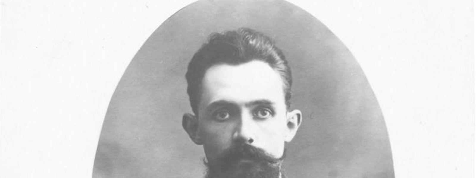 Albert Schergen. Dieses Bild wurde vermutlich kurz vor seinem Tod aufgenommen.