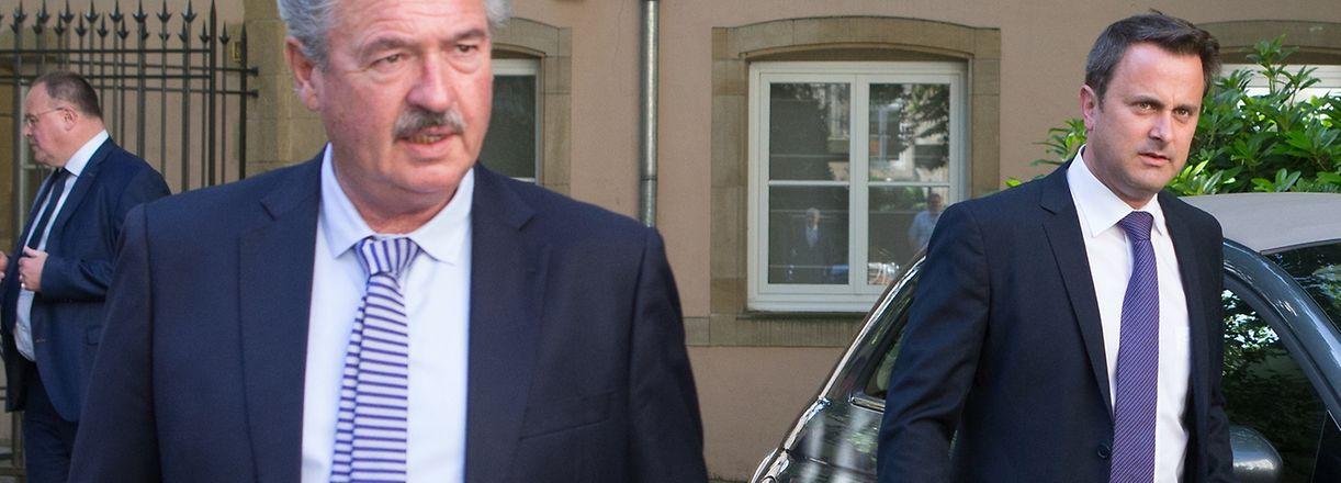 Photo Gouvernement Luxembourgeois, Conseil des Ministres, Asselborn, Bettel,  le 10 Juin 2016. Photo: Chris Karaba