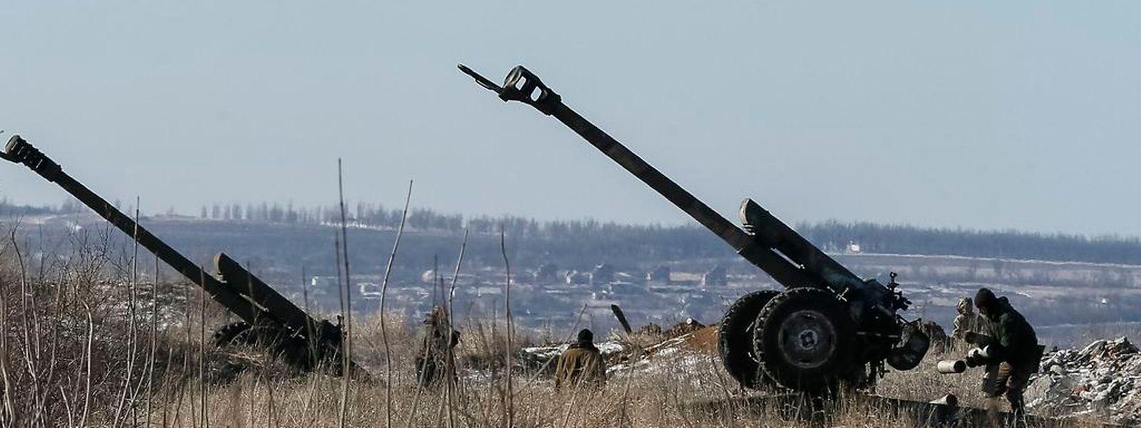 Die schweren Waffen wurden noch nicht abgezogen.