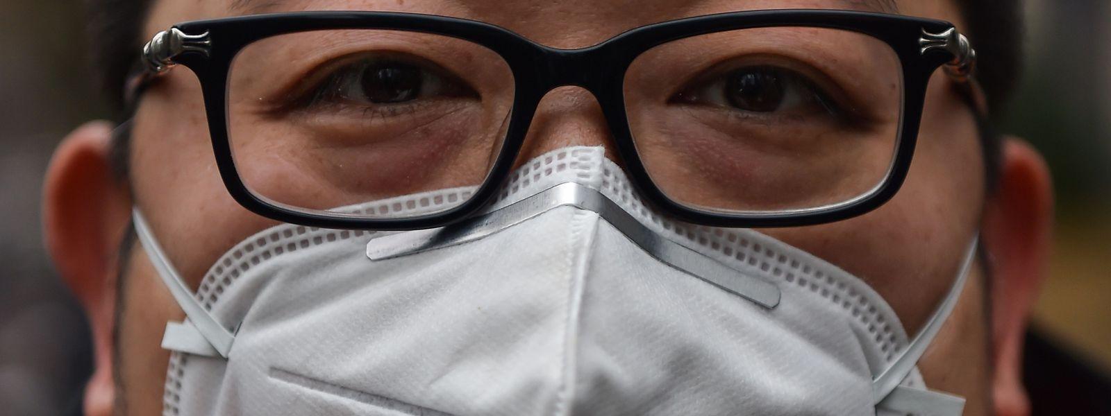 maske vor virus