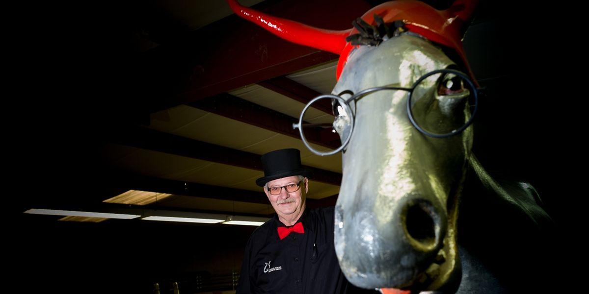 Der Esel auf dem Wagen der Eselen aus der Sauerstad darf auf keinen Fall fehlen.