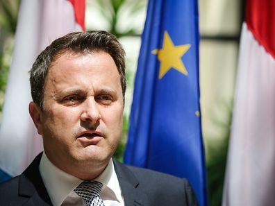 Point Press - Conseil de Gouvernement -  suivi d'un barbecue - Xavier Bettel - Photo : Pierre Matgé