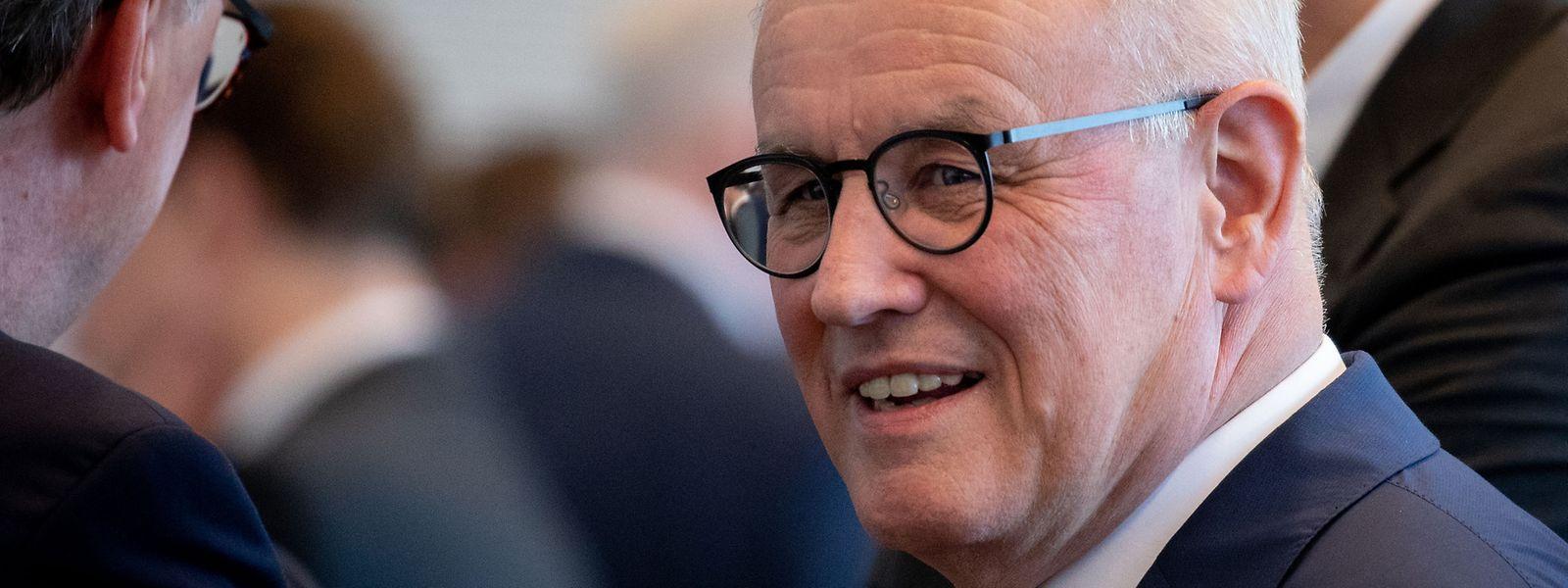 Volker Kauder (CDU), Fraktionsvorsitzender der CDU/CSU Fraktion im Bundestag, wird abgelöst.