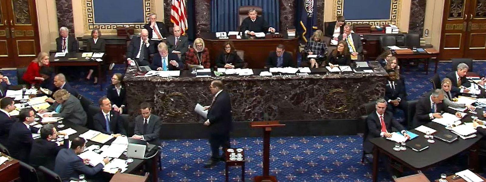 Blick in den Senat.