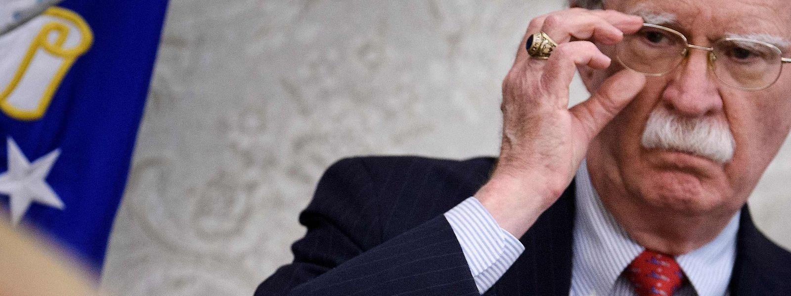Bolton soll seinen Rücktritt am Morgen eingereicht haben.
