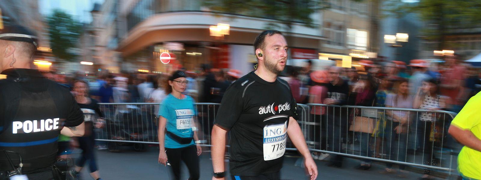 Beim ING-Marathon sind über 200 Polizisten in der Hauptstadt im Einsatz.
