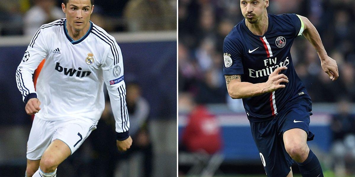 PSG - Real ou le duel entre Cristiano Ronaldo que Paris voudrait chiper aux Merengue et Ibrahimovic, en fin de contrat, qui ambitionne de partir sur un succès en C1.