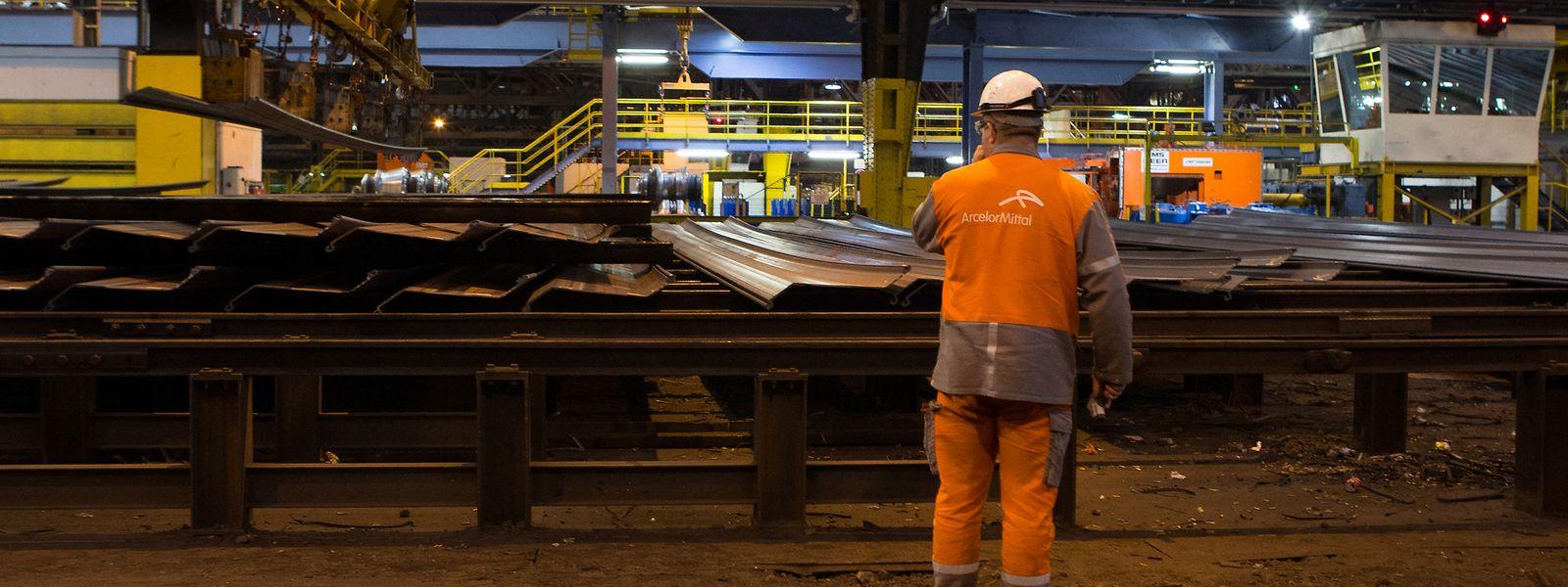 Selon les annonces de la direction, 578 emplois sont menacés sur les sites luxembourgeois d'ArcelorMittal. Soit 15% des effectifs totaux.