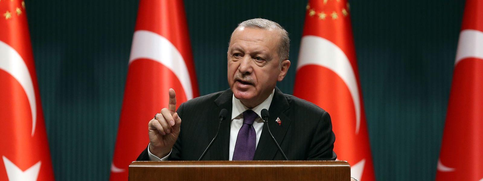 Erdogan plant eine neue Verfassung