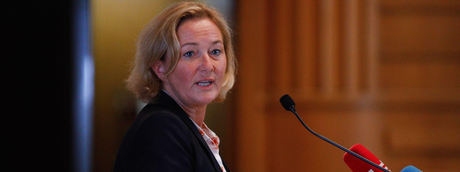 Die Gesundheitsministerin zog am Freitag Bilanz. Luxemburg habe die Covid-Krise bislang recht gut gemeistert, so Paulette Lenert.