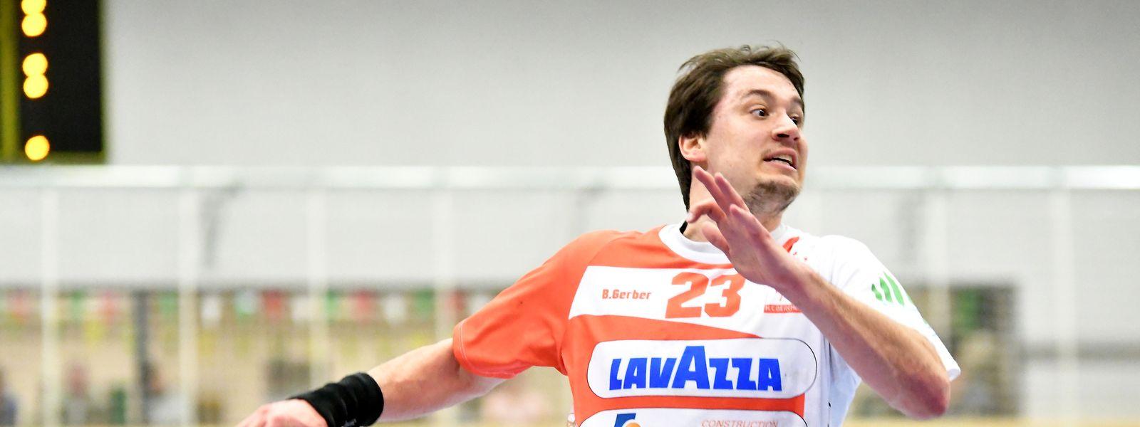 Björn Gerber ist aktuell noch Spieler beim HC Berchem.