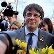Carles Puigdemont soll nun nicht mehr nach Spanien ausgeliefert werden.