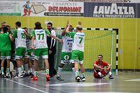 Handball - Axa league Hommes - saison 2020/2021  -  HC Berchem - Red Boys Differdange - 12/09/2020 - hall sportif de Crauthem - foto : Vincent Lescaut