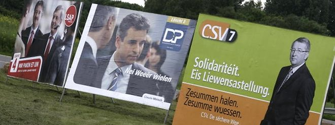 Ab Mitte September werden die Wahlplakate den Wegesrand zieren.