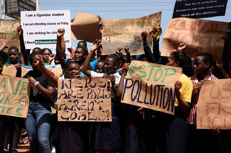 Grève des élèves en Ouganda