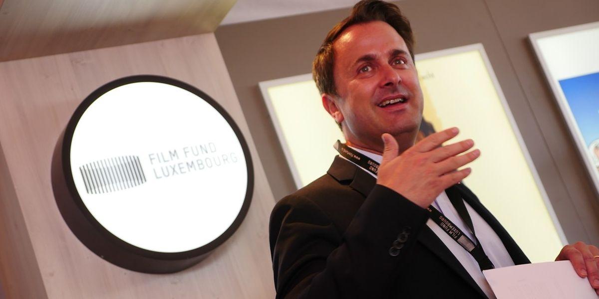 Xavier Bettel reiste diesmal persönlich nach Cannes zum Luxemburger Tag.