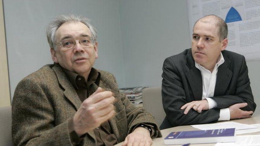 Im Gespräch: Fernand Fehlen (links) und Peter Gilles.