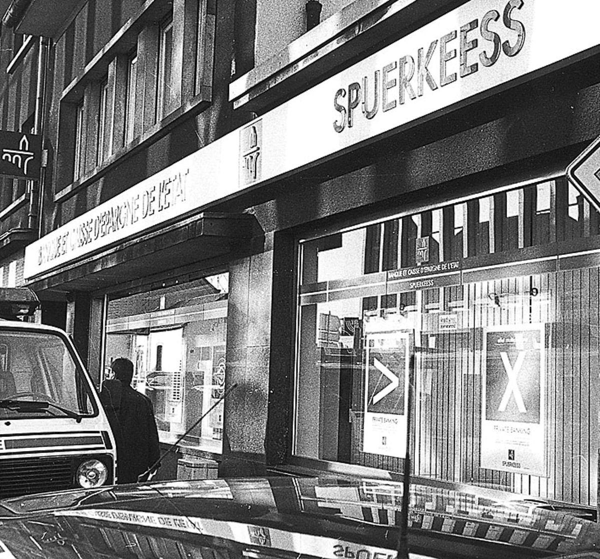 Banküberfall am 25.Februar 1999 in Rodange.