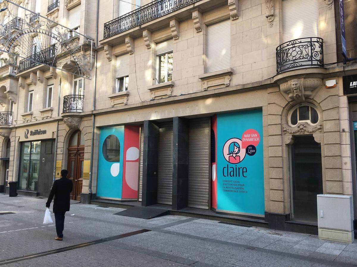 Eigentlich sollten die Pop-up-Stores in Esch im Frühjahr eröffnen. Wegen des ausgerufenen Notstands muss diese Eröffnung verschoben werden.