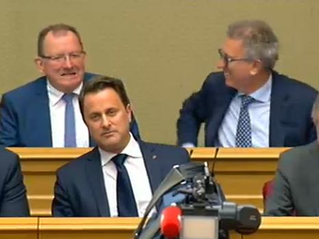 En plein discours sur l'état de la Nation de Xavier Bettel, «la séance publique a été interrompue» à cause d'un problème de son ce mardi après-midi à la Chambre des députés.