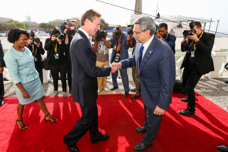 Visite officielle de S.A.R. le Grand-Duc en Republique de Cabo V