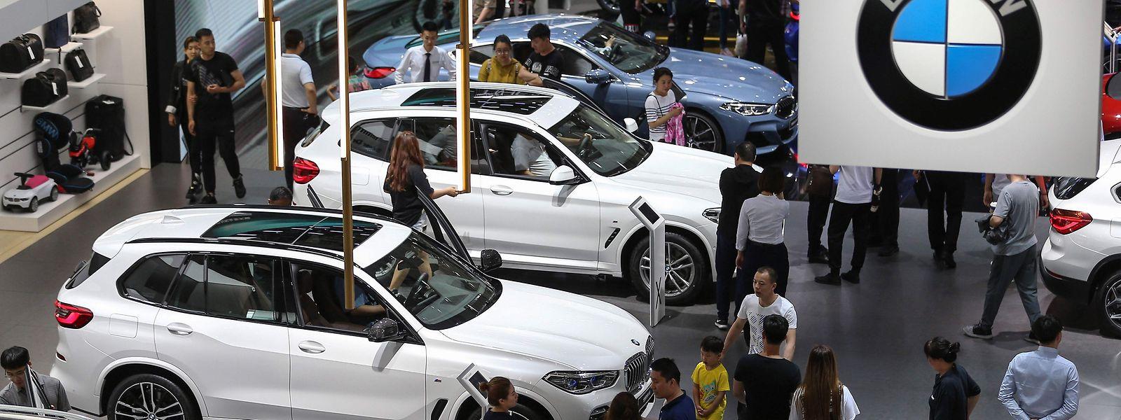 Die SUV-Modelle kommen auch auf dem chinesischen Markt gut an.