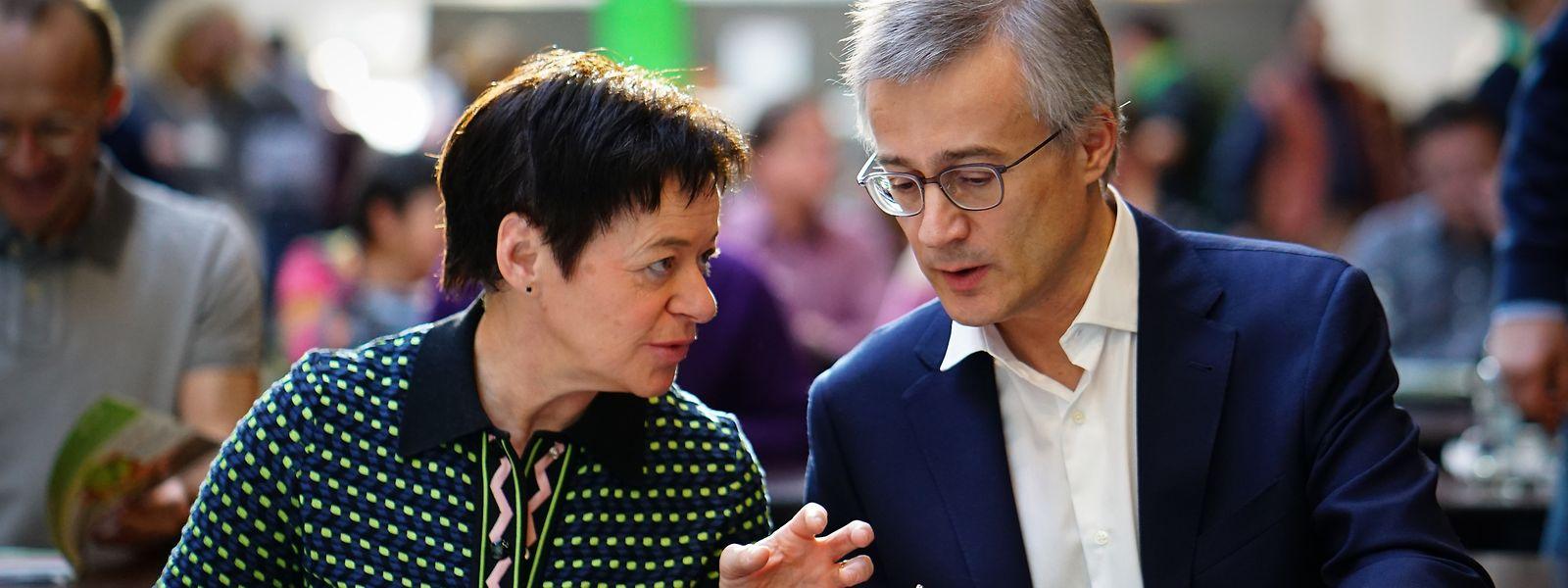 Designiertes Duo für die Südspitze der Grünen: Josée Lorschée und Felix Braz.