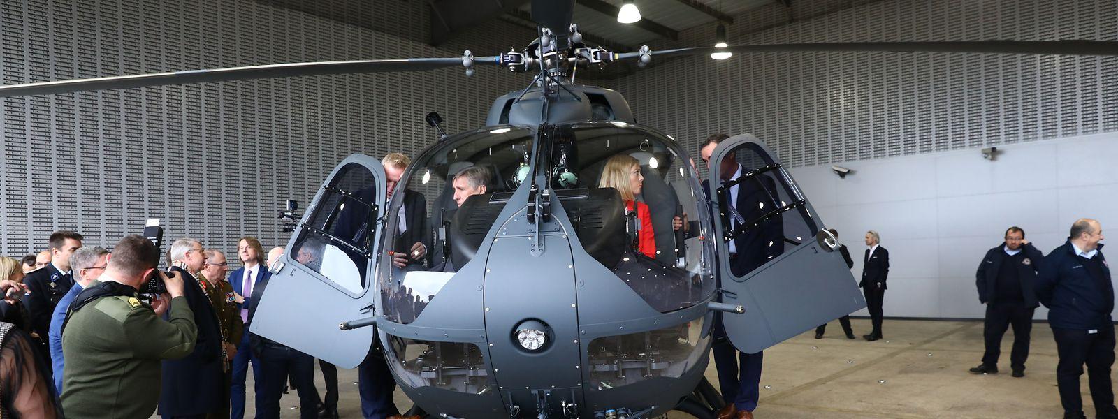 L'hélicoptère Airbus H145M