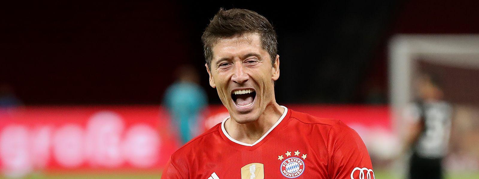 Robert Lewandowski fehlt nur noch der Titel Weltfußballer des Jahres.