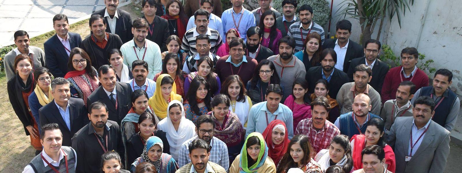 L'équipe de la Kashf Foundation au Pakistan est en lice