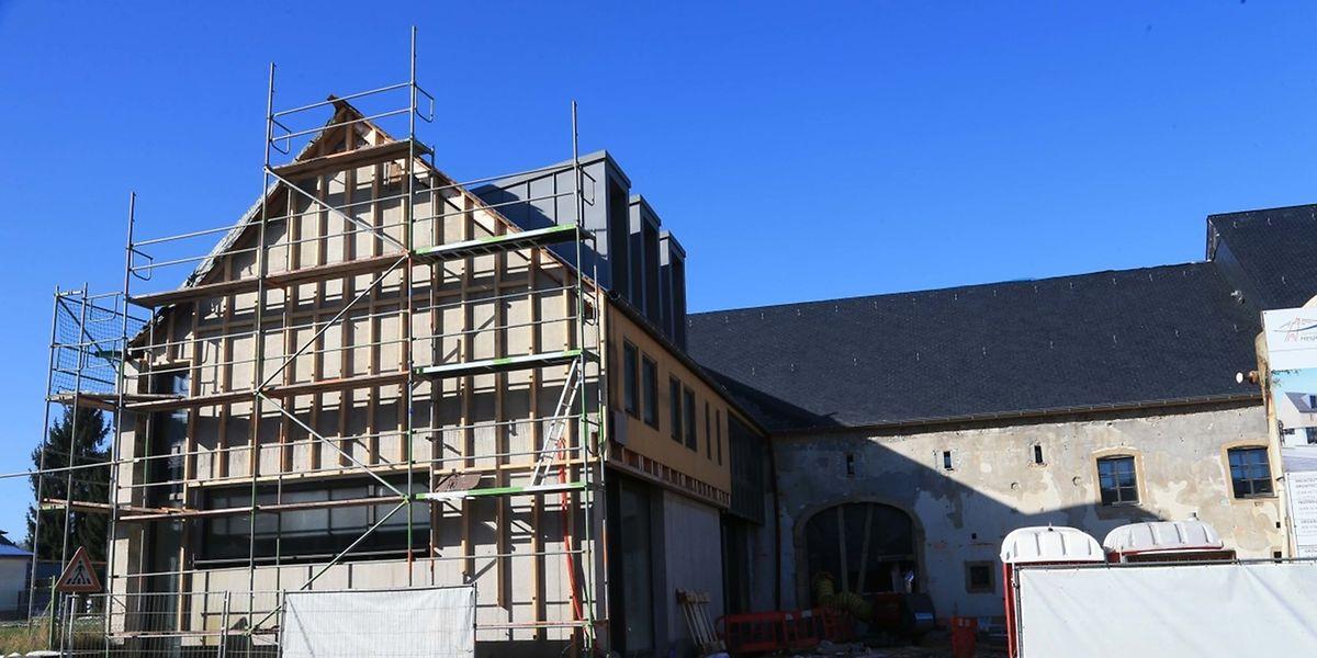L'accident au travail s'est produit sur le chantier de la Maison de la musique de Fentange.