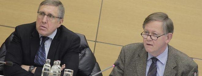 Dass sich im SREL-Dossier letztlich die Frage der politischen Verantwortung stellt, sei kein Geheimnis, so Alex Bodry (rechts).