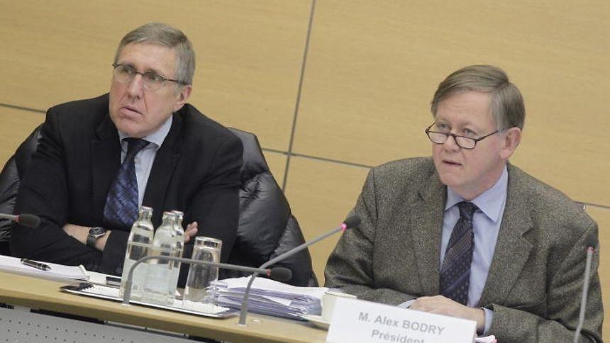 François Bausch (l.) and Alex Bodry