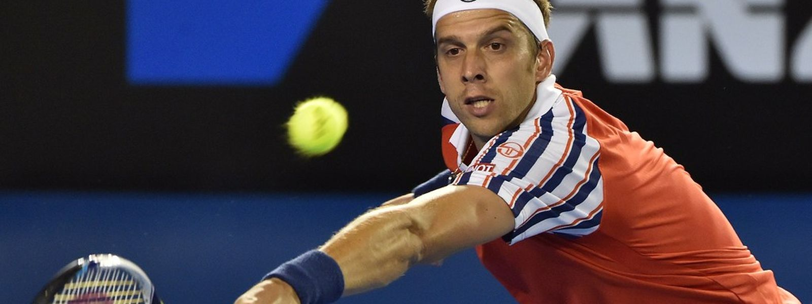 """Gilles Muller: """"Ich weiß, dass ich mit Kalibern wie Djokovic mithalten kann."""""""