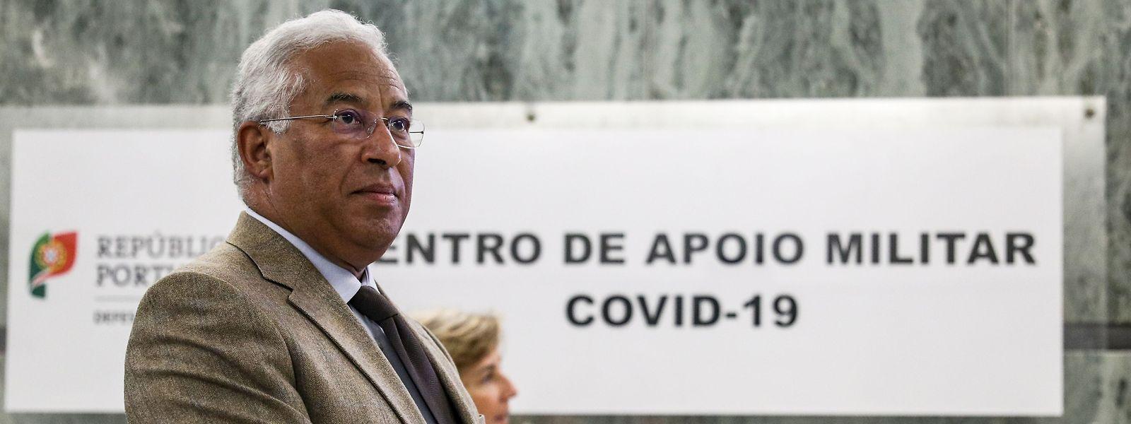 Depuis mardi, le Portugal est placé en état dit de contingence, deuxième niveau d'alerte du plan de protection civile instauré par le gouvernement d'Antonio Costa.