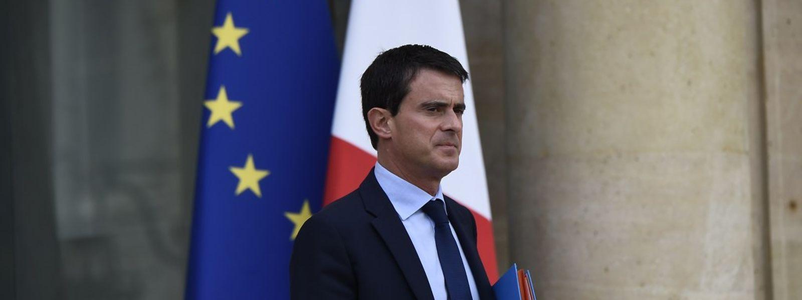 Le Premier ministre français, Manuel Valls, le 25 septembre 2014